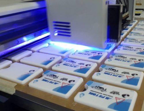 พิมพ์ UV การ์ดสเปรย์